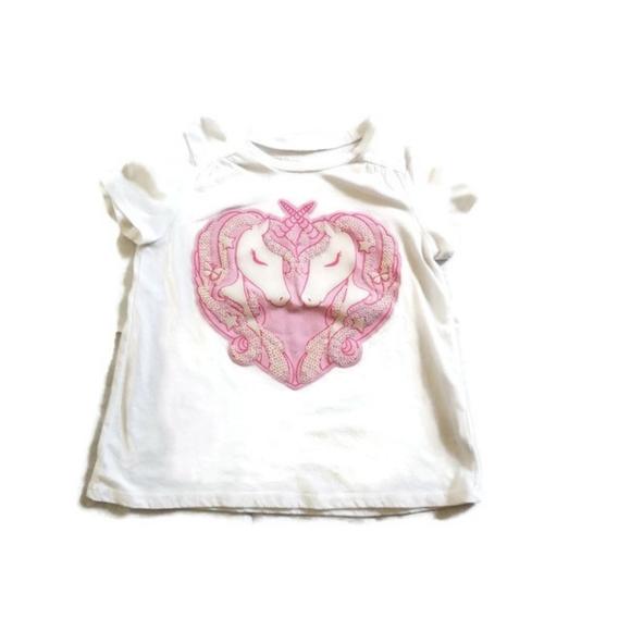 Toddler Girl Summer Tee Size 4T